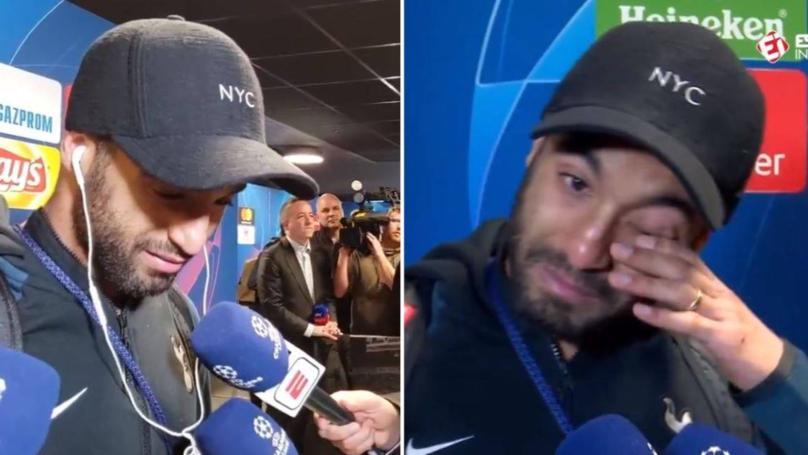 Lucas Moura Gets Emotional Watching Brazilian Footage Of His Winning Goal