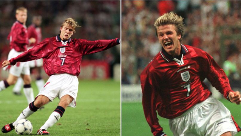 Last Time England Met Colombia At The World Cup David Beckham Lashed Home A Free Kick