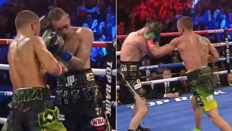 Vasiliy Lomachenko Lands 42 Power-Punches In 11th Round, Jose Pedraza Somehow Gets Through It