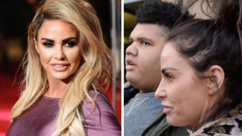 Katie Price Accused Of 'Using' Son Harvey Following Drug Allegations
