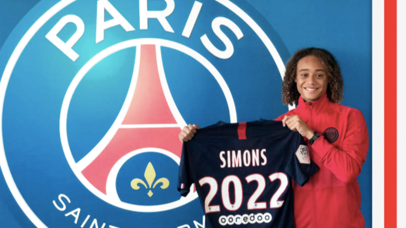 Xavi Simons, 16, Will Earn €1 Million A Year At Paris Saint-Germain