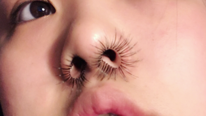 This Woman Gave Herself Nose Hair Extensions, For Some Reason