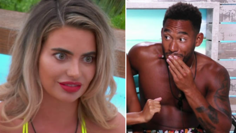 love island 2018 islanders face shock dumping on tonight 39 s episode pretty 52. Black Bedroom Furniture Sets. Home Design Ideas