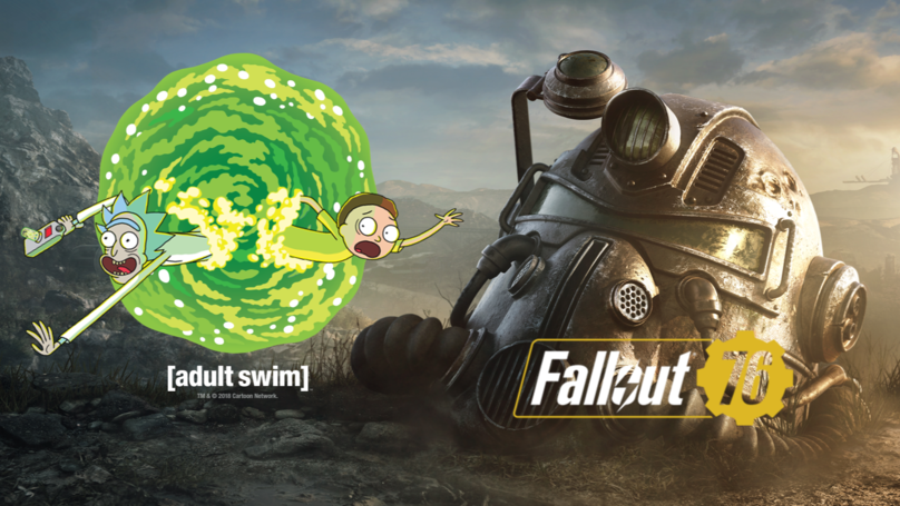 ​Adult Swim's Rick And Morty Streaming Fallout 76 With Ninja And Logic Tonight