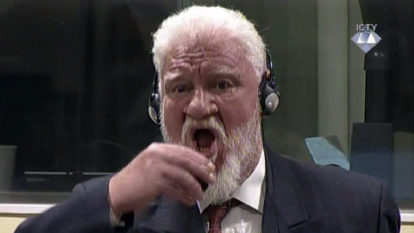 Bosnian Croat War Criminal Slobodan Praljak Dies After Drinking Poison In UN Court