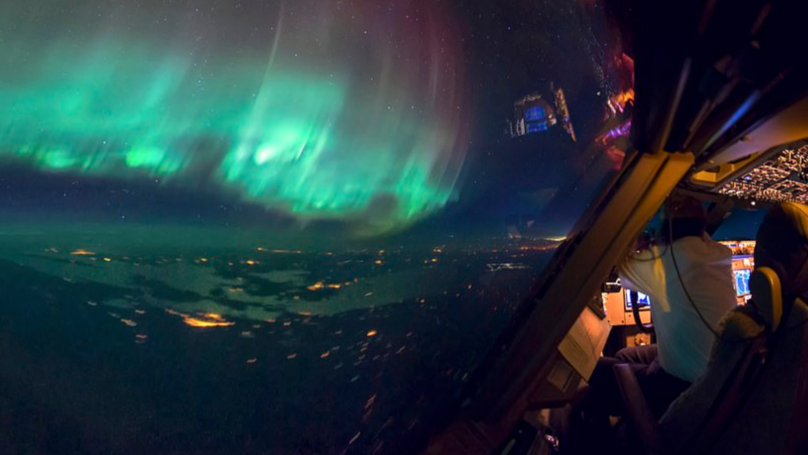 Pilot Shares Spectacular Pictures Taken From The Cockpit Of A Boeing 747