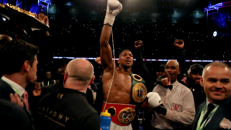 Anthony Joshua Reveals First Thing He Bought With His £15 Million Prize Money