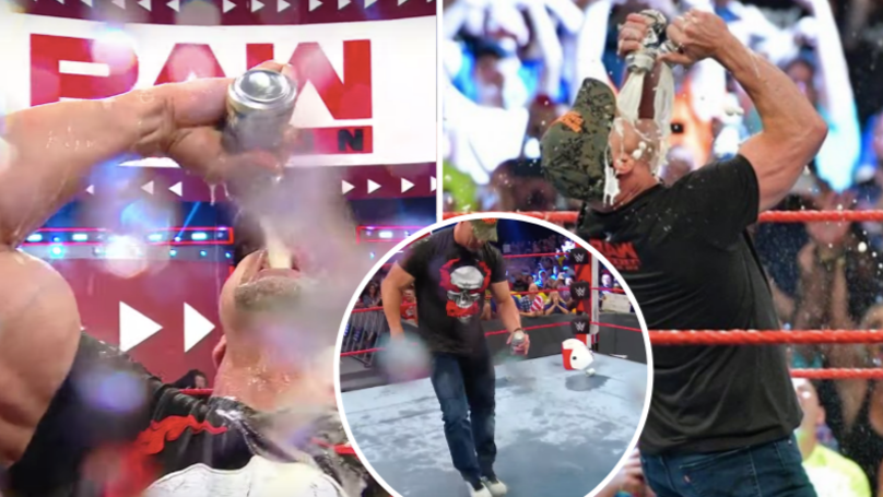 Stone Cold Steve Austin Just Drank Loads Of Beer When RAW Went Off Air