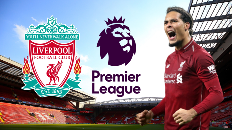Virgil Van Dijk Has Been Named The Best Premier League Player This Season