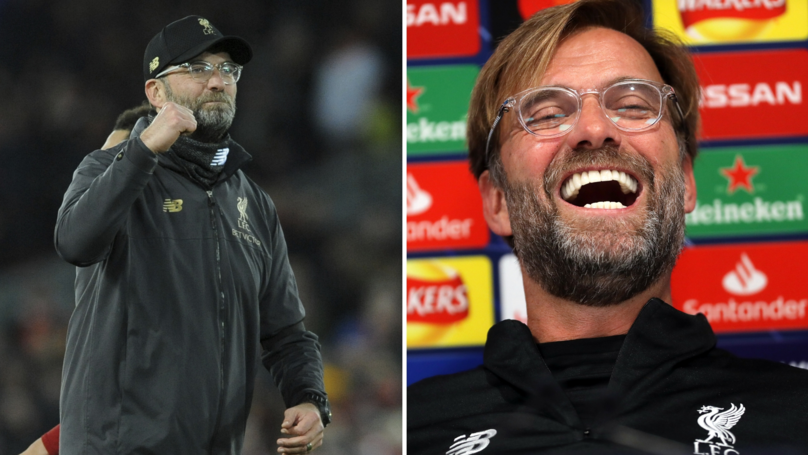 Jürgen Klopp's Hilarious Response When A Reporter Asked Him To Sum Up 2018