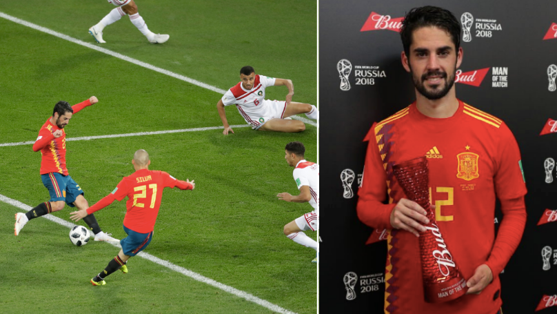 Isco Has Proven At This World Cup That He's Up There With The Best