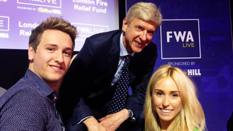 Arsenal Fan Met Arsene Wenger But Moment Was Ruined By Girlfriend