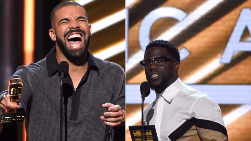 Kevin Hart's Brilliant Response After Drake Ripped Into Him On Instagram