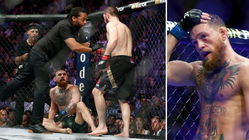 Referee Herb Dean Reveals The Real Reason For Not Intervening In Khabib-McGregor