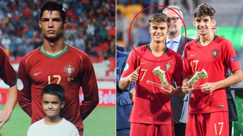 11 Years After Being Cristiano Ronaldo's Mascot, Joao Filipe Is Portugal's New Golden Boy