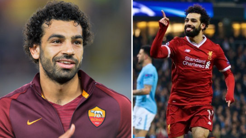 AS Roma Send Classy Tweet To Mohamed Salah, He Responds Brilliantly