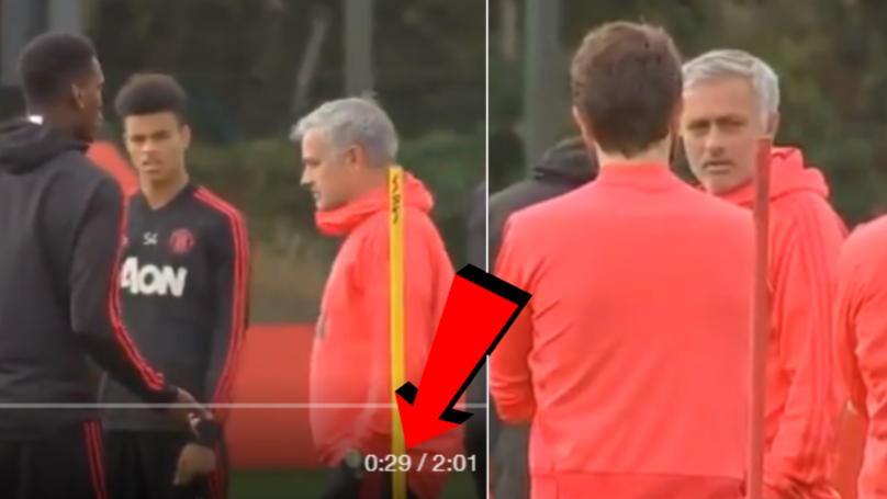 People Think They've Worked Out What Jose Mourinho Said To Paul Pogba In Training