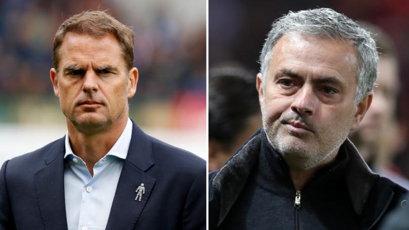 Frank De Boer Has A Very Classy Response To Jose Mourinho's Jibes