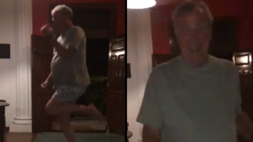 Jeremy Clarkson Attempts The 'Kiki Do You Love Me' Challenge