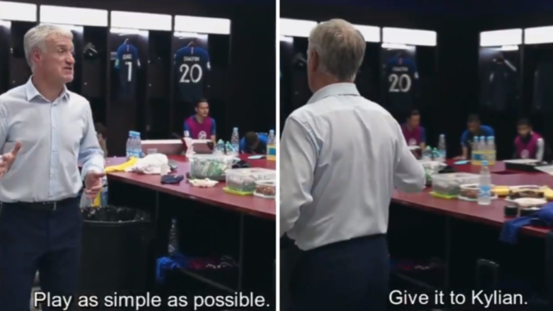 Didier Deschamps Half Time World Cup Final Team Talk Was Simple And Effective
