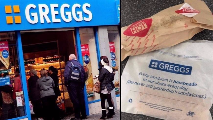 Greggs Has Added Something To Its New Menu That Is Going To Make People Very Happy