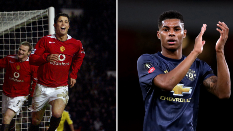 Video Compares Cristiano Ronaldo And Marcus Rashford At 21