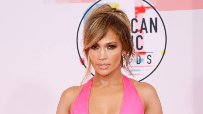 Jennifer Lopez Shows Off Her 'Glorified Curves' In Naked Dress