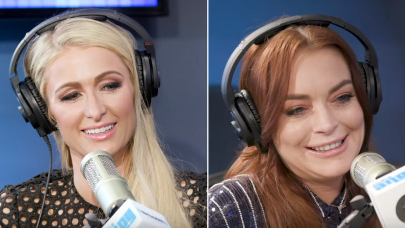 Lindsay Lohan Recalls Picture With Paris Hilton And Things Get Awkward