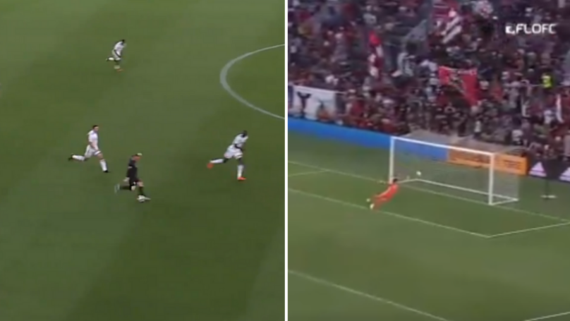 Wayne Rooney Scores Outrageous Goal From His Own Half Against Orlando City