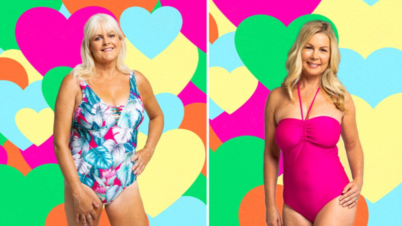 Love Island Contestants' Mums Recreate Opening Pictures For Fashion Shoot