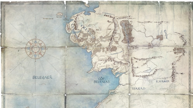 Map Reveals Clues To When The Lord Of The Rings TV Show Is Set