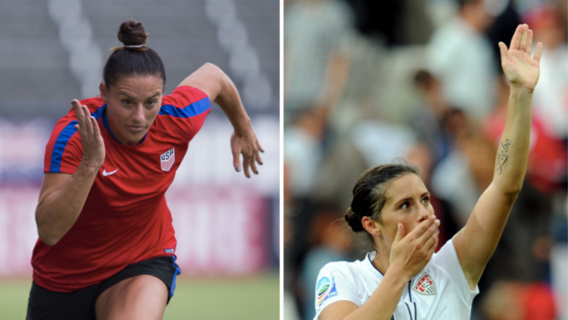 Meet USA World Cup Winner Ali Krieger - Six Mini Heart Attacks, Three World Cup Finals