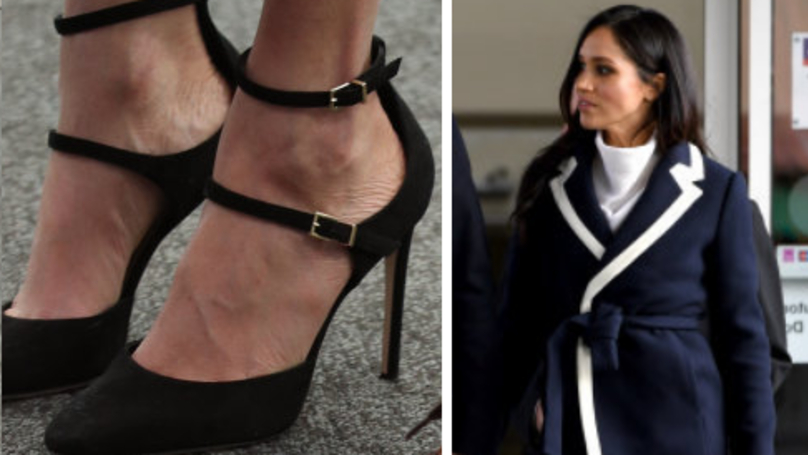 Everyone Is Looking At Meghan Markle's Feet As She Steps Out In Too Big Shoes