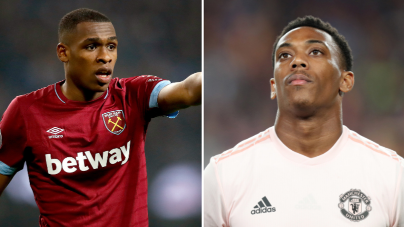 West Ham Want Anthony Martial As Part Of Deal For Issa Diop