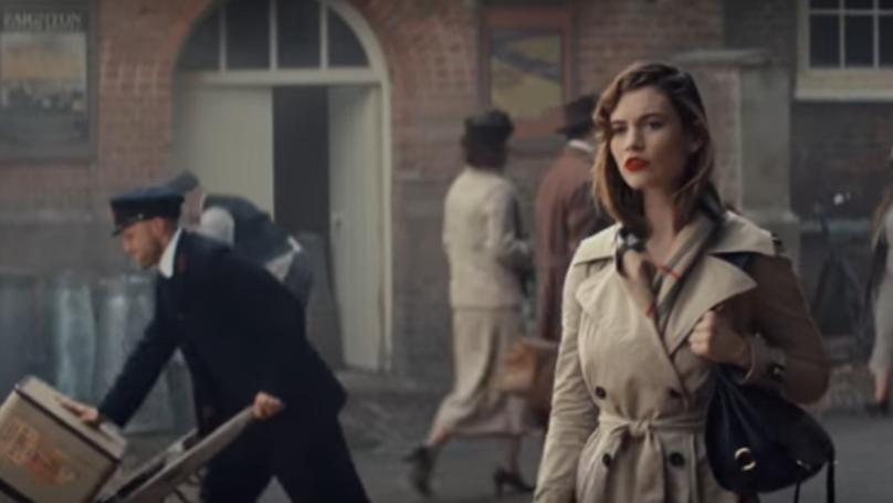 Burberry Spent Ten Million Quid On Its Christmas Advert