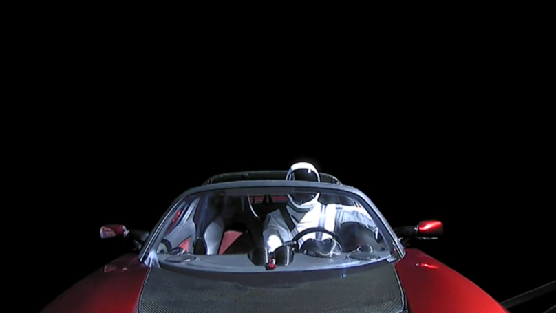 Why Can't You See The Stars In Elon Musk's Tesla Roadster Space Video?