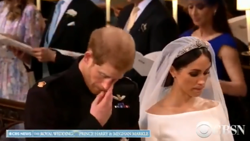 Royal Wedding 2018: ​Prince Harry Sheds Tear During Hymn From Diana's Funeral