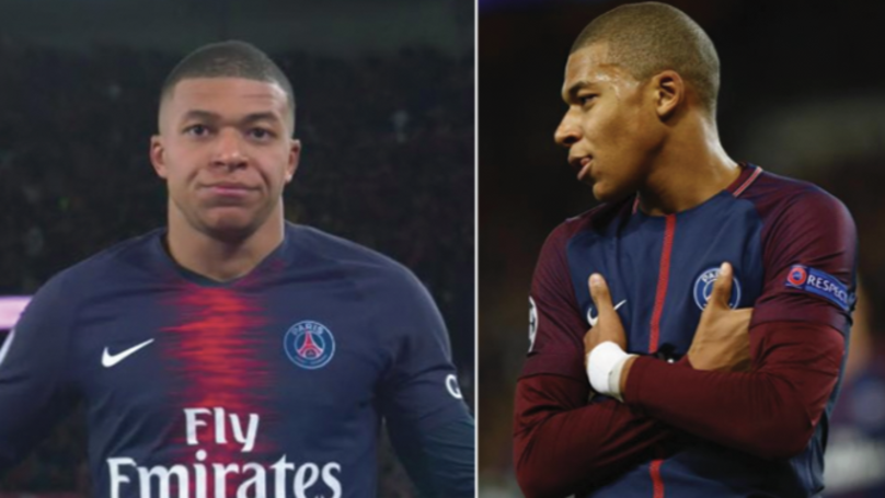 Kylian Mbappe's New Celebration Has Got Everyone Talking