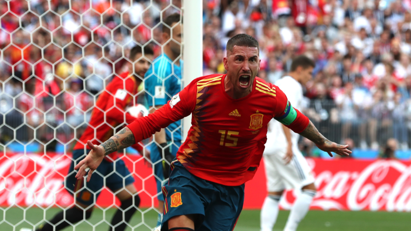 Sergio Ramos Is Getting Stick Online For Celebrating An Own Goal