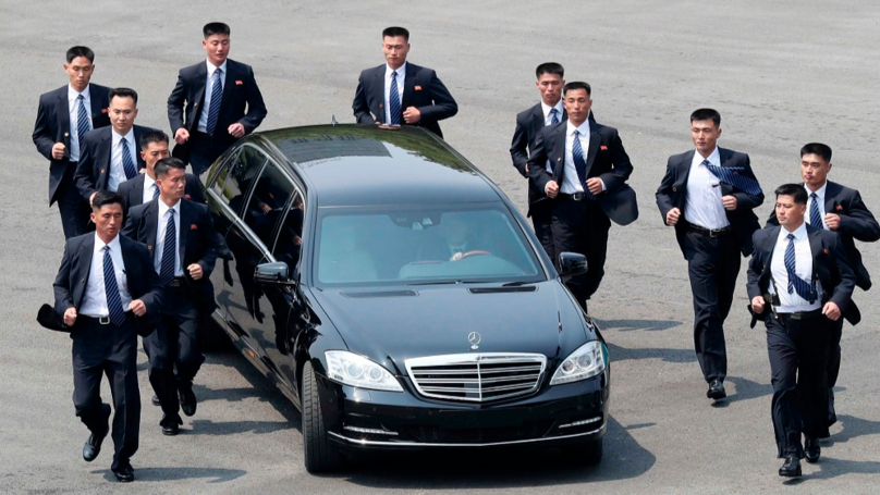 How Would You Become One Of Kim Jong-un's Running Bodyguards?