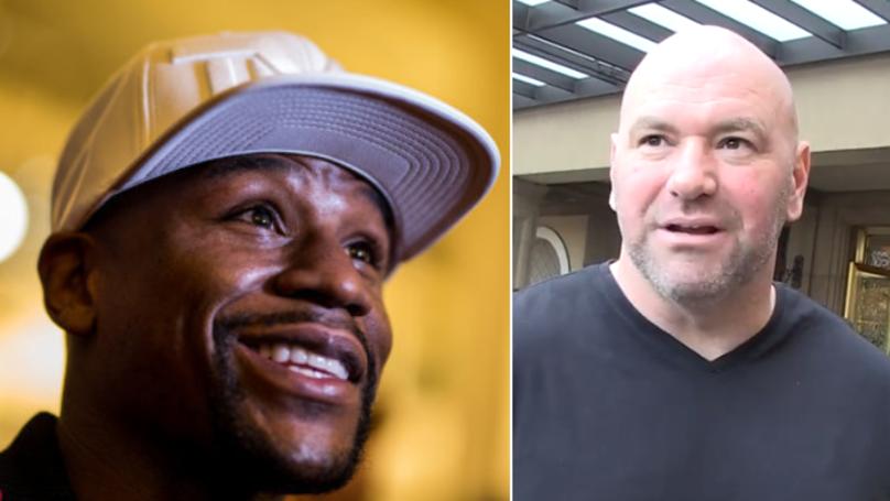 Dana White Fires Back At Floyd Mayweather Over Khabib Nurmagomedov Fight