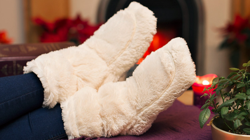 You Can Now Buy Microwavable Slippers To Keep Your Feet Toasty