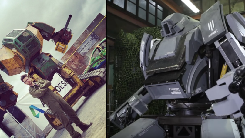 An Epic Battle Between Two Robot Building Companies Is Taking Place