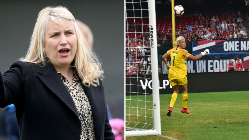 Emma Hayes Makes Case For Women's Football To Have Smaller Goals
