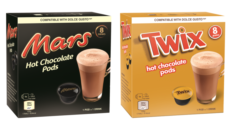 Aldi Is Selling Twix And Mars Bar Hot Chocolate Pods