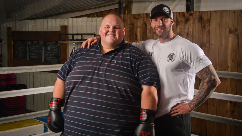 Man Loses 10 Stone In 15 Weeks In A Journey To Save His Life