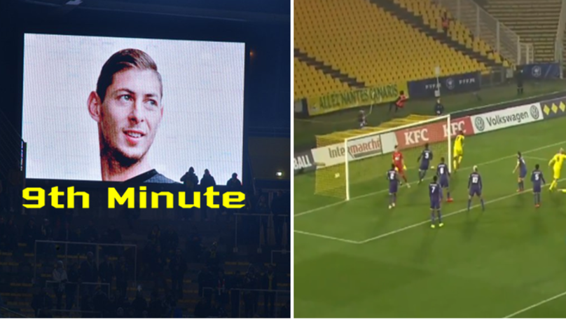 Nantes Scored In The Ninth Minute, Fans Think It Was Destiny