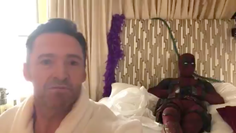 Deadpool Hilariously Trolls Hugh Jackman During Birthday Message