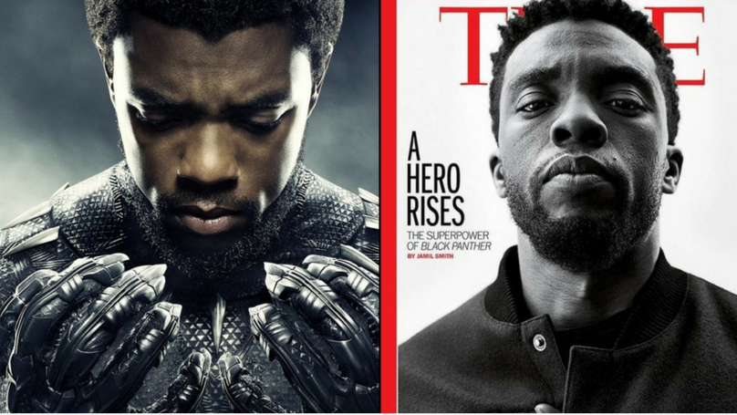 Black Panther Smashes Another Movie Milestone As It's The First Marvel Film On TIME's Cover