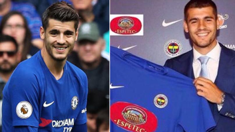 Alvaro Morata Responds Brilliantly To Random Team Claiming To Have Signed Him